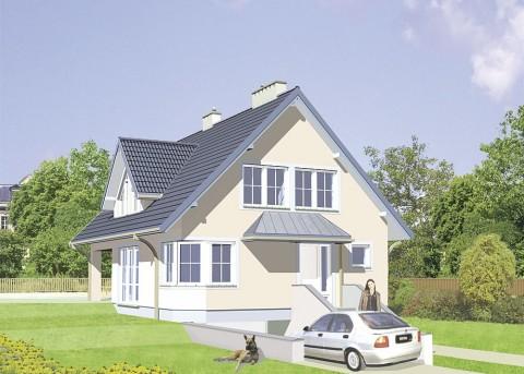 Проект дома LK&132