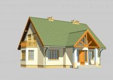 Проект дома LK&133