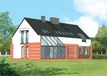 Проект дома LK&142
