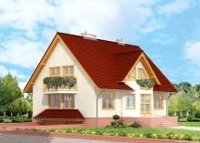 Проект дома LK&151