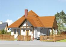 Проект дома LK&155