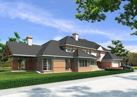Проект дома LK&167