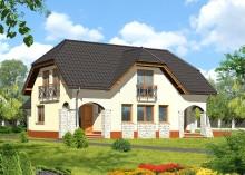 Проект дома LK&184
