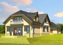 Проект дома LK&186