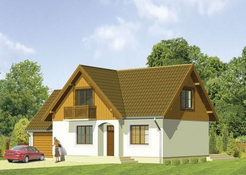 Проект дома LK&204
