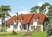 Проект дома LK&217 двухквартирного