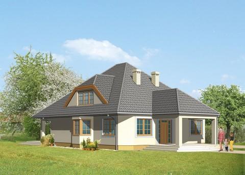 Проект дома LK&242