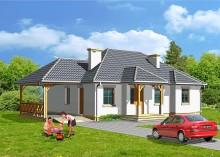 Проект дома LK&256