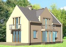 Проект дома LK&257