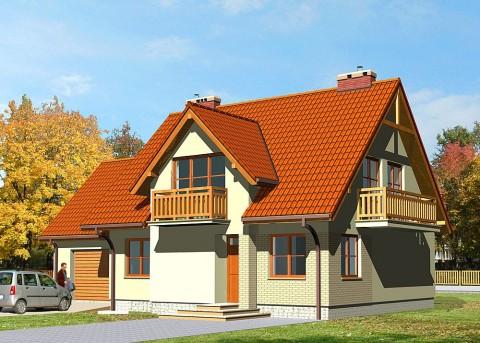 Проект дома LK&258