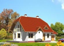 Проект дома LK&262