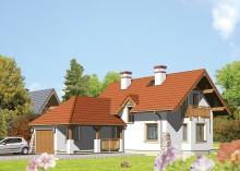 Проект дома LK&291