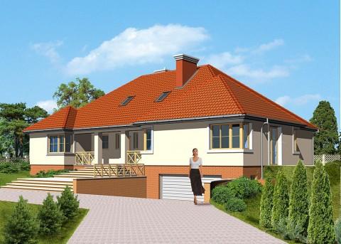 Проект дома LK&332