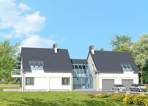 Проект дома LK&381