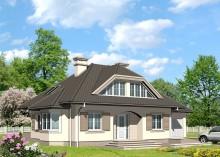 Проект дома LK&417