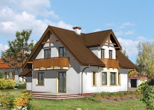 Проект дома LK&433
