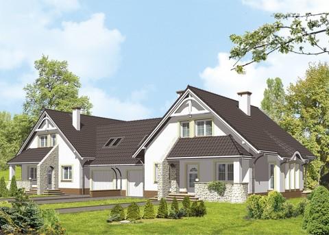 Проект дома LK&436