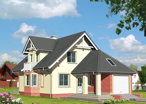 Проект дома LK&438