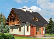Проект дома LK&444