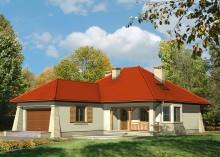 Проект дома LK&446