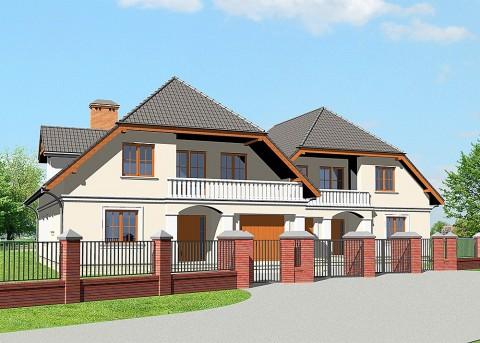 Проект дома LK&476