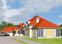 Проект дома LK&502