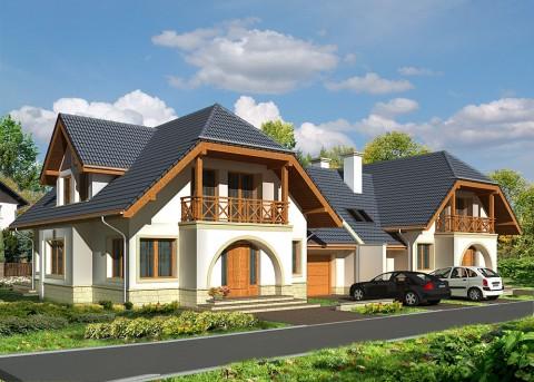 Проект дома LK&541