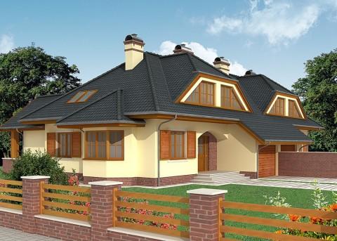 Проект дома LK&545