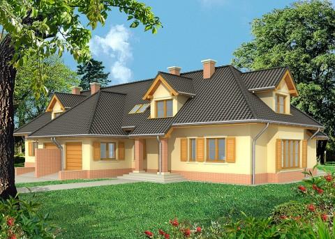 Проект дома LK&552