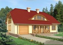 Проект дома LK&553