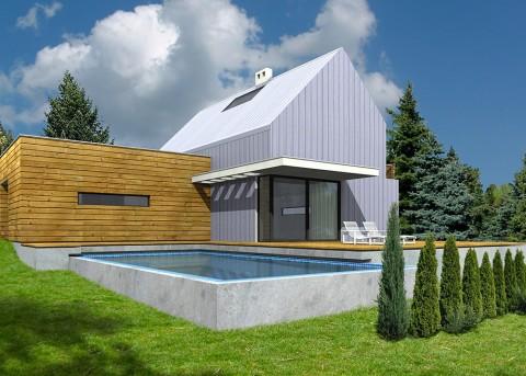 Проект дома LK&556