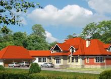 Проект дома LK&560
