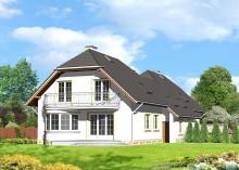 Проект дома LK&566