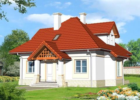 Проект дома LK&576