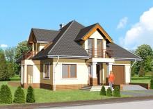 Проект дома LK&587