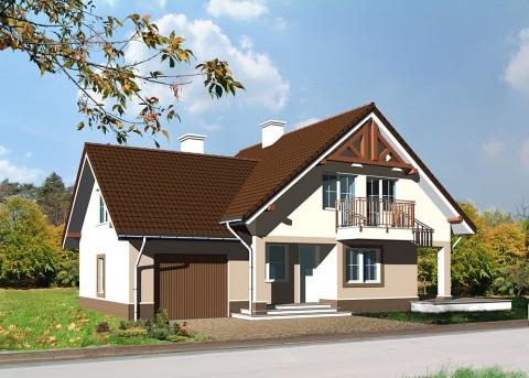Проект дома LK&588