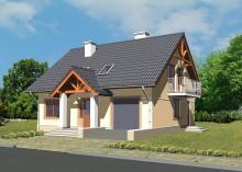 Проект дома LK&589