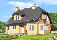 Проект дома LK&592