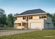 Проект дома LK&612