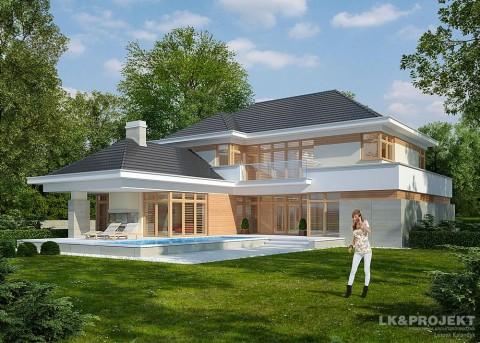 Проект дома LK&624