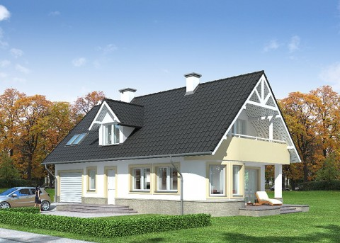 Проект дома LK&643