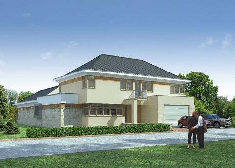 Проект дома LK&654