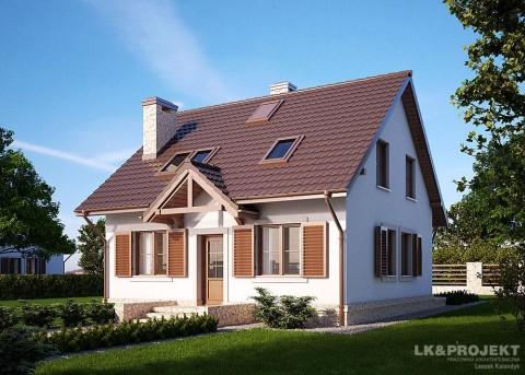 Проект дома LK&661