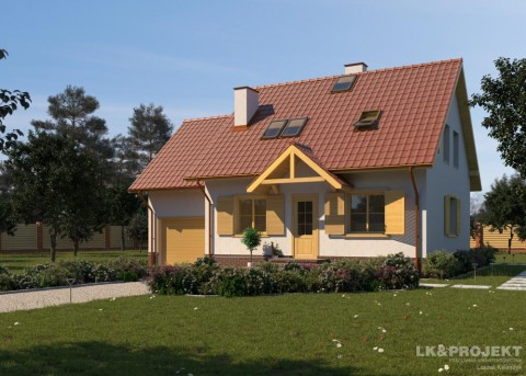 Проект дома LK&665