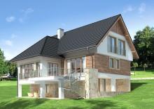 Проект дома LK&668