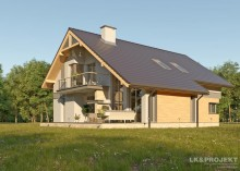 Проект дома LK&674