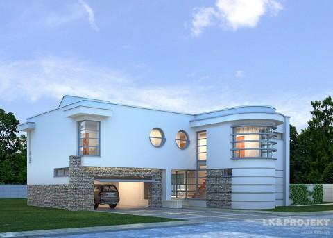 Проект дома LK&698
