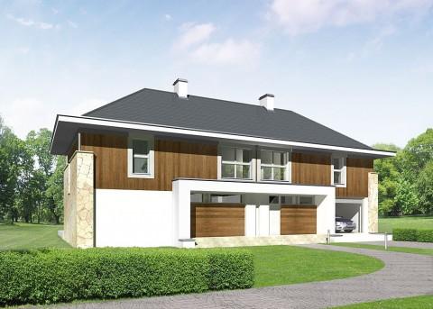 Проект дома LK&699