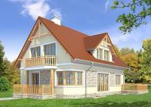 Проект дома LK&706