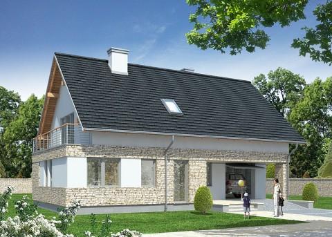 Проект дома LK&708